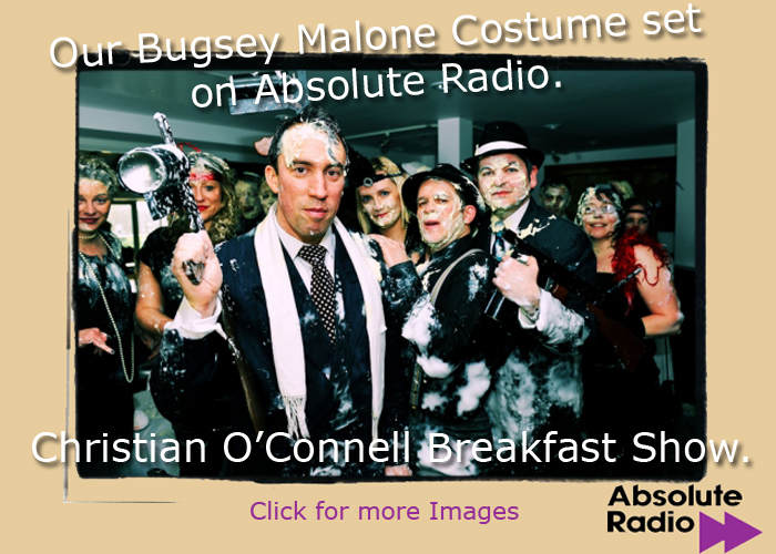 Bugsy Malone Absolute Radio