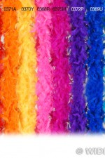 0369U Blue Feather Boa