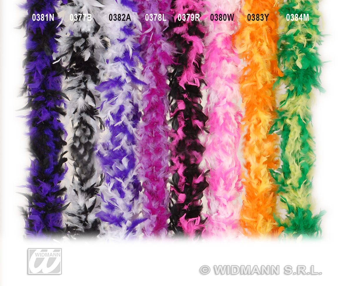 0378L Feather Boa Lilac/Purple
