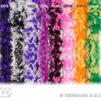 0382A Feather Boa Purple/White