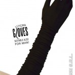 1443P Long Black Gloves