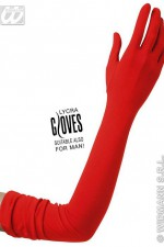 1451H Extra Long Red Gloves