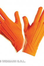 1463O Short Orange Gloves