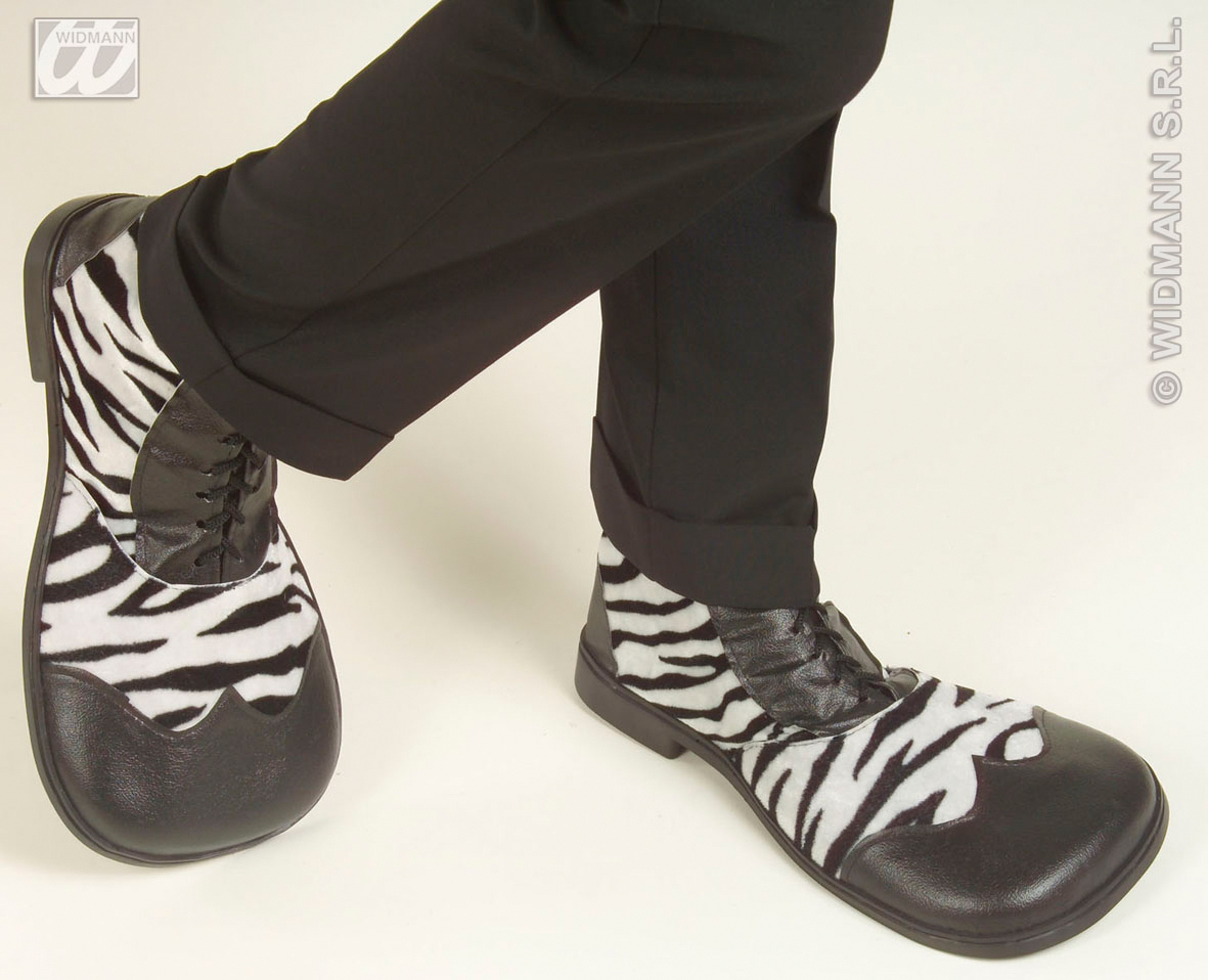 1837Z Zebra Party Shoes