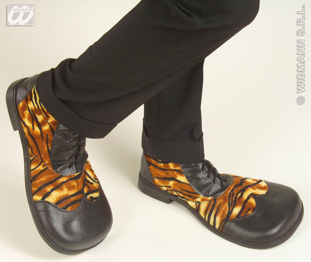 1838T Tiger Party Shoes