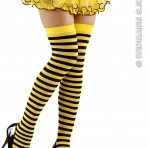 2074B Bee Over Knee Socks