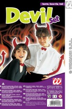 2582D Devil Dress Up Set