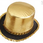 2586G Gold Top Hat