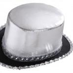 2587A Silver Top Hat