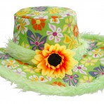 2597V Hippy Flower Hat