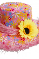 2598E Hippy Flower Hat
