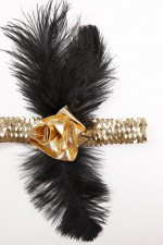 2626T 20's Sequin Headband