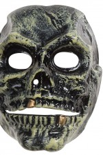 2661S Skull mask with movable jaw