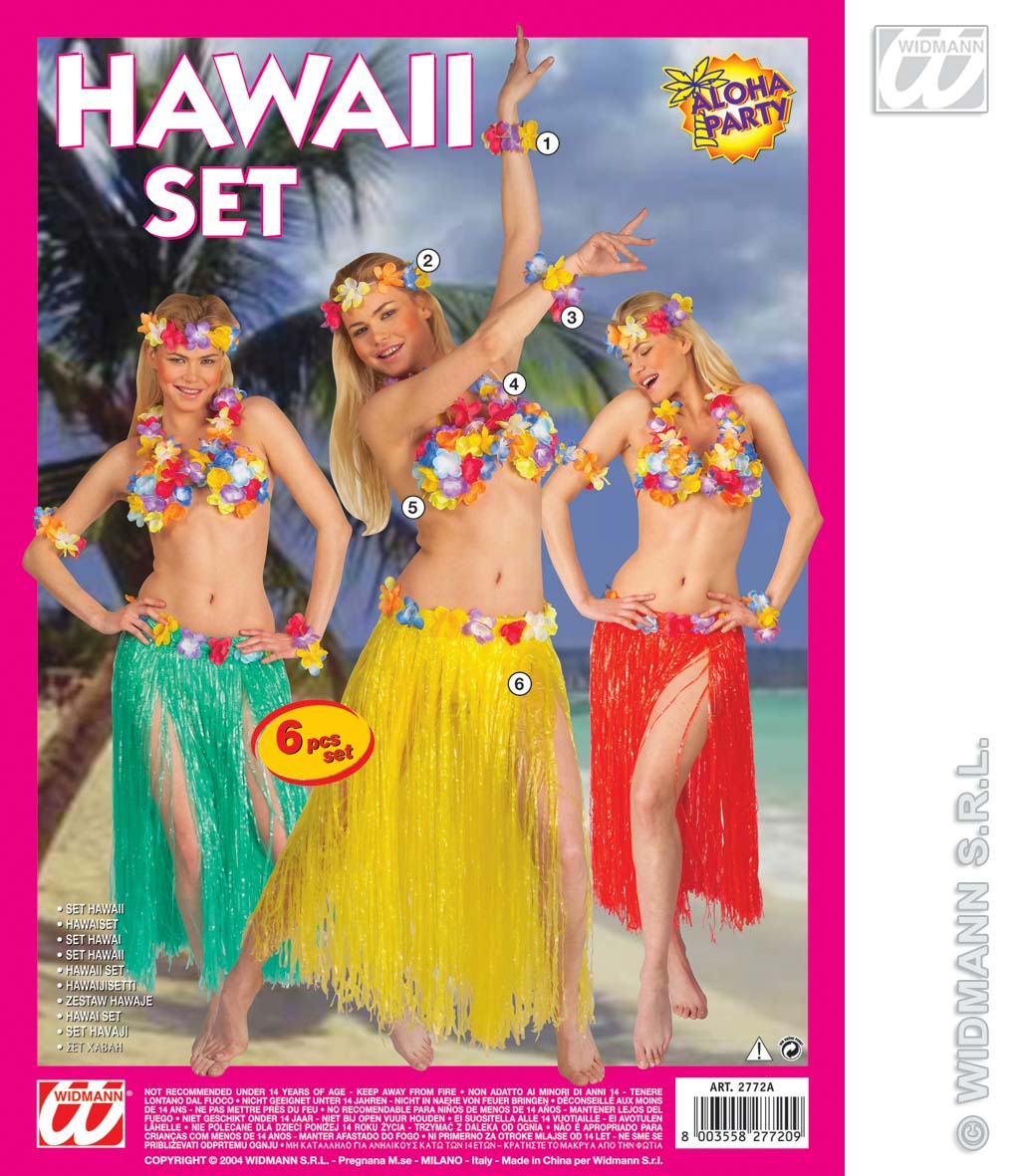 2772A Hawaii Set