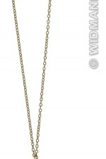 2952T Gold Cross Necklace