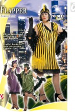 3160Q XL 20s Flapper dress