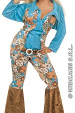 3172Y XL Hippy woman costume