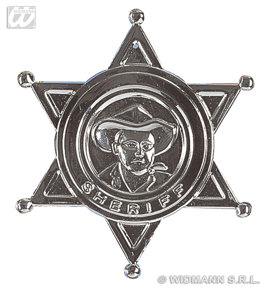3301H Sheriff Star Badge