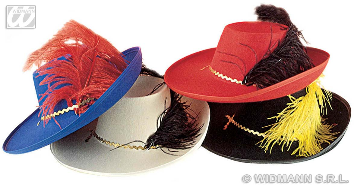 3415F Musketeer Hat