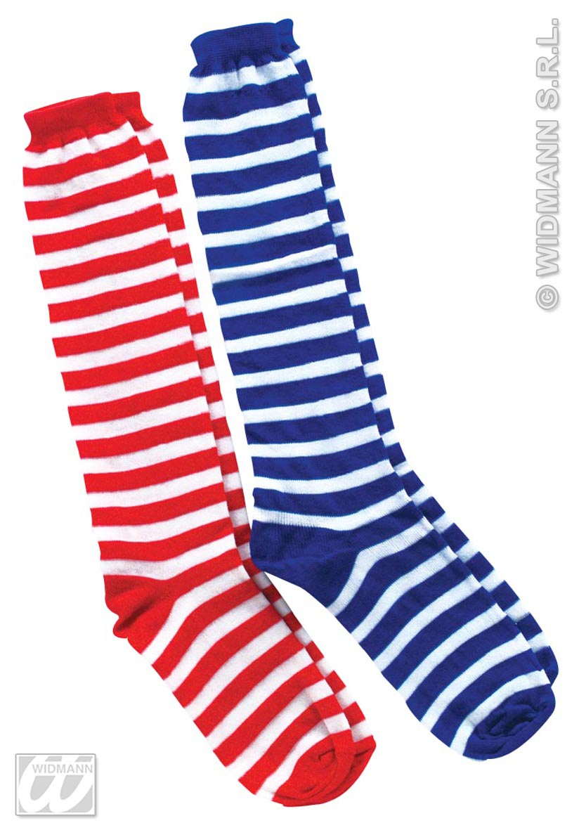 3440D Clown Socks