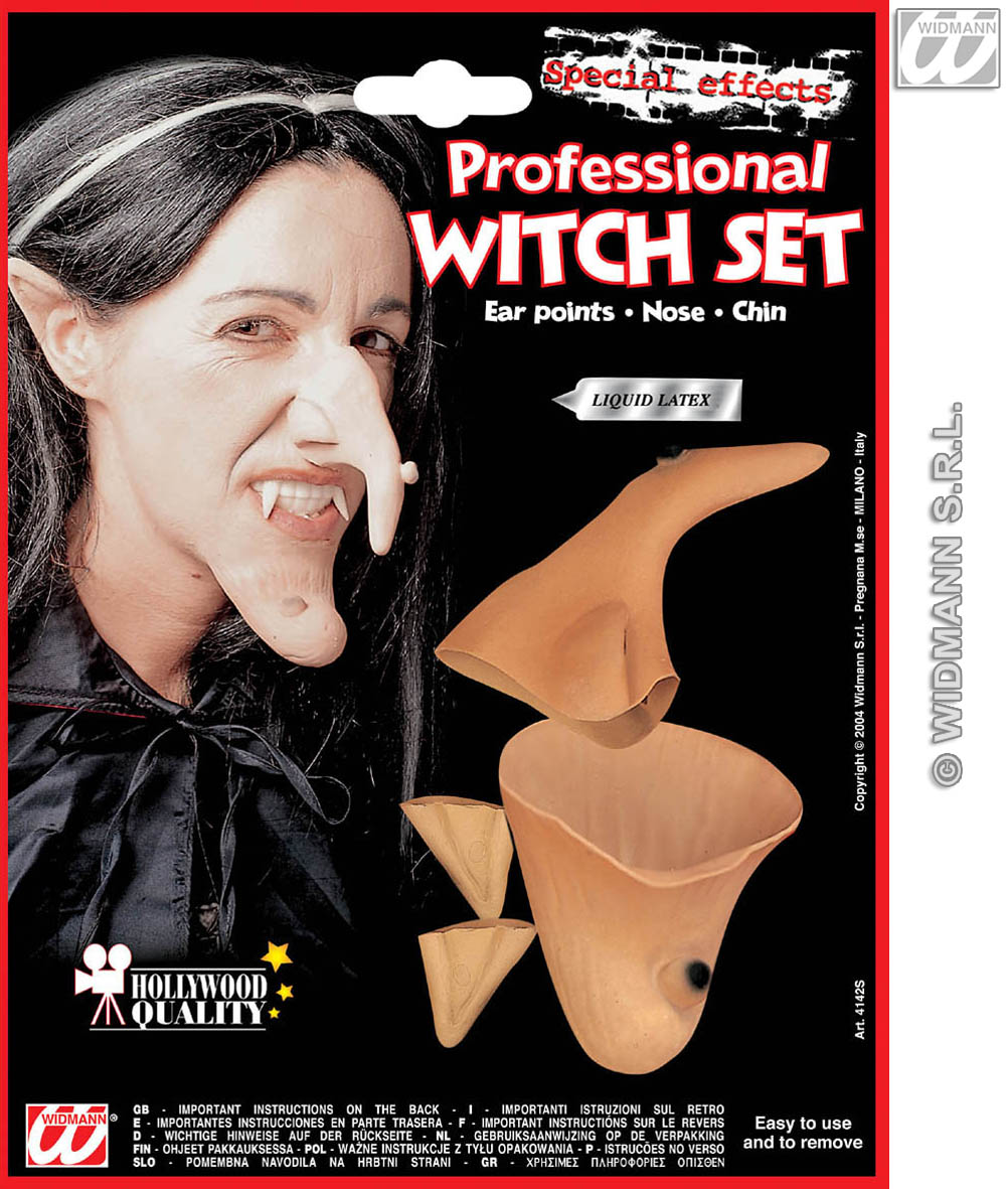 4142S Witch nose and chin set