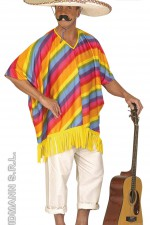 4307P Mexican poncho