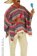 4345P Mexican poncho