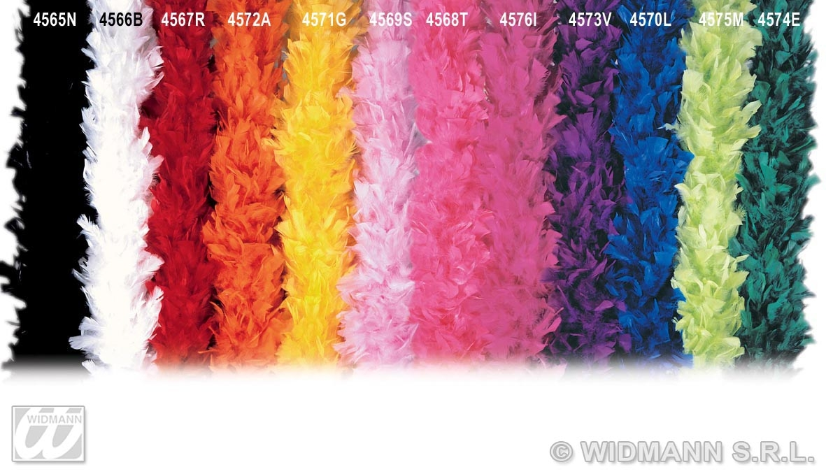 4571G Yellow Feather Boa