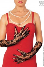 4634N Long Lace Gloves