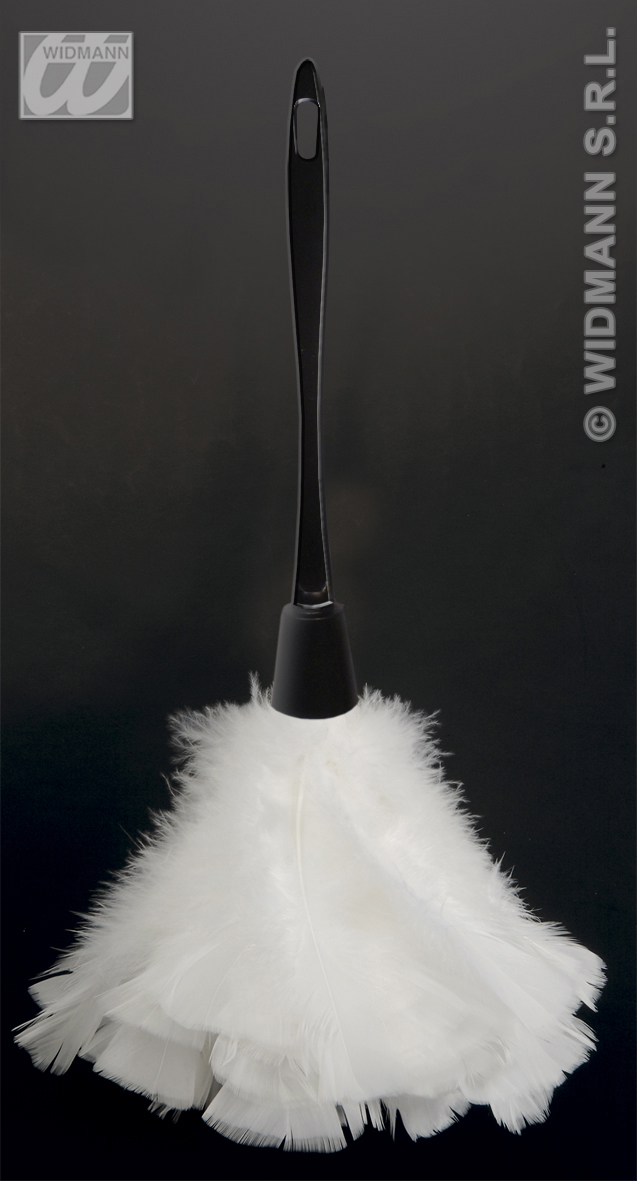 4713F white feather duster