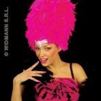 4725M Sequinned feather headress
