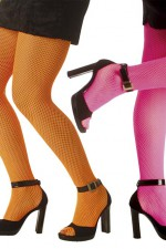 4754N Neon Fishnet Tights