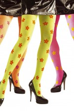 4773H Neon Flowers Tights