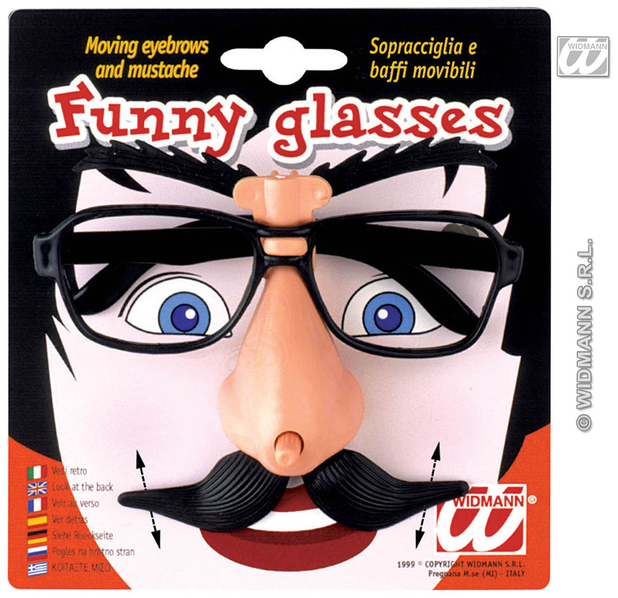 4977M Funny Glasses