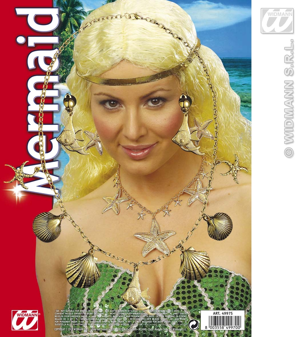 4997S Mermaid Jewellery Set