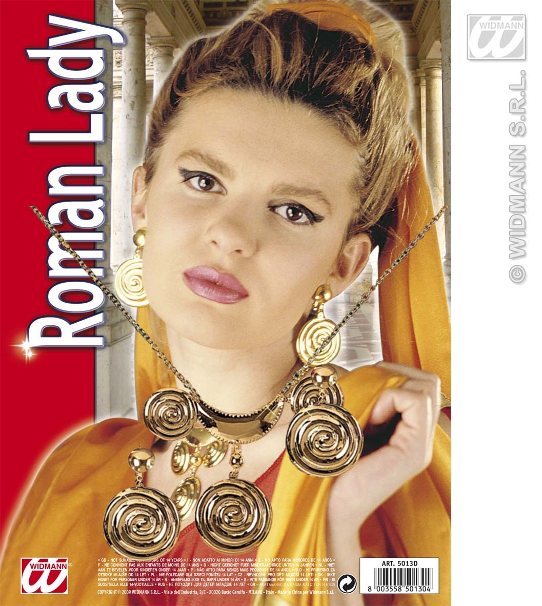 5013D  Roman Lady Jewellery Set
