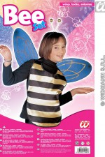 5144A Bee bodice, wings, antennas