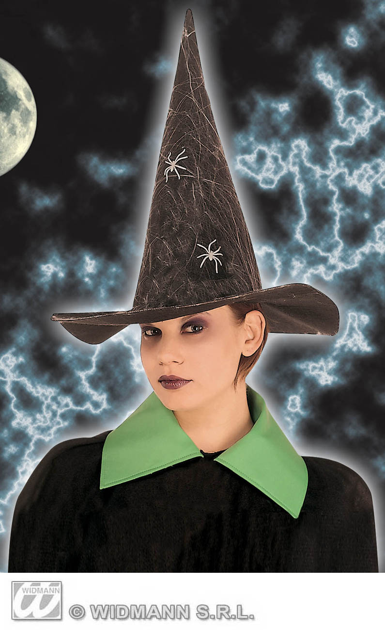 5158R Spider Witch Hat