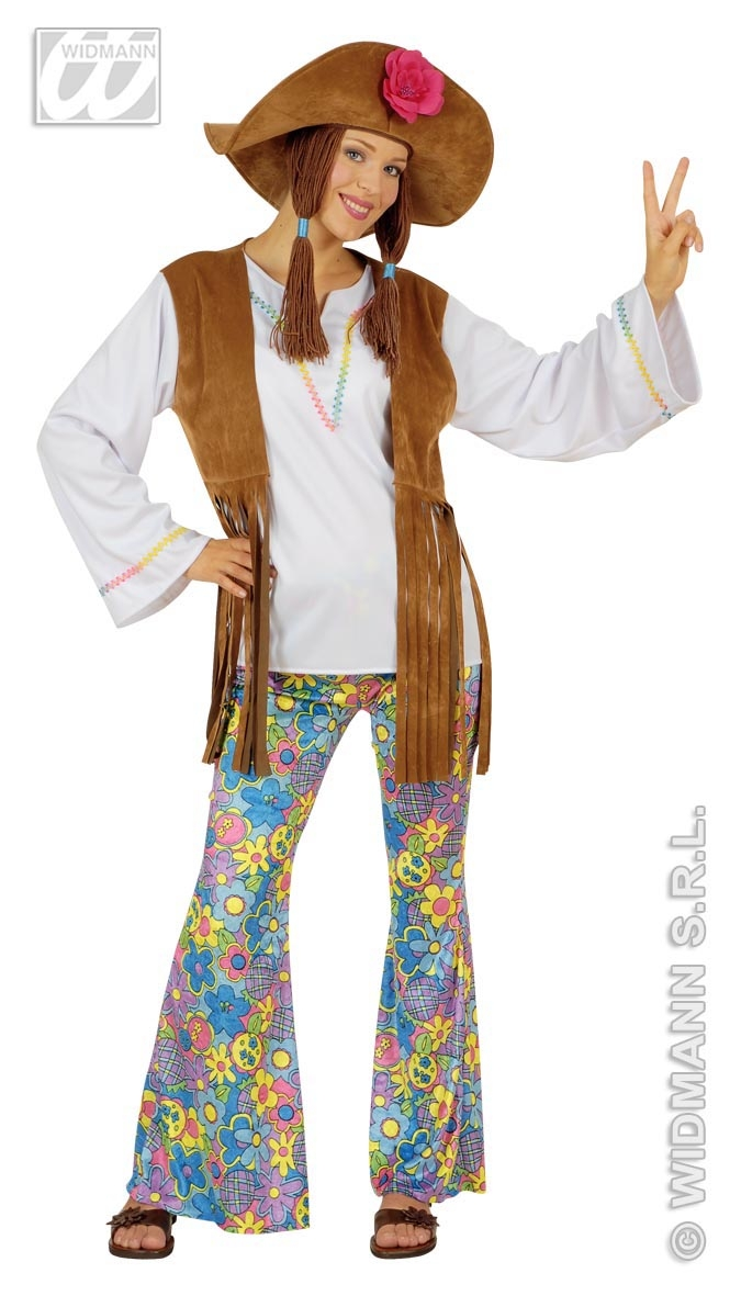 56041 Woodstock Hippy woman