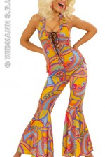 58082 70's Funky Chick Jumpsuit