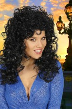 5957S Long Curly Wig
