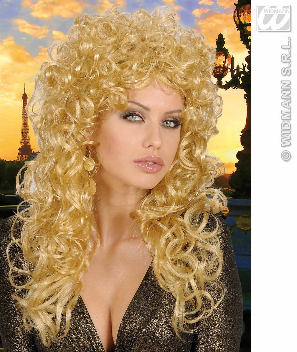 5958E Long Curly Wig