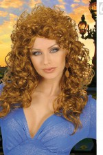 5959M Long Curly Wig