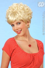 5960A Short Curly/Straight Wig