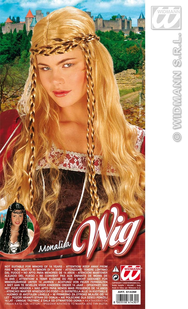 6143M Pirate Lady / Renaissance Long Wig