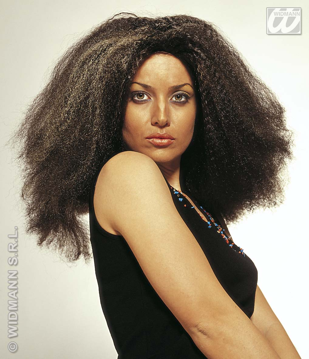 6186A Long Afro Wig