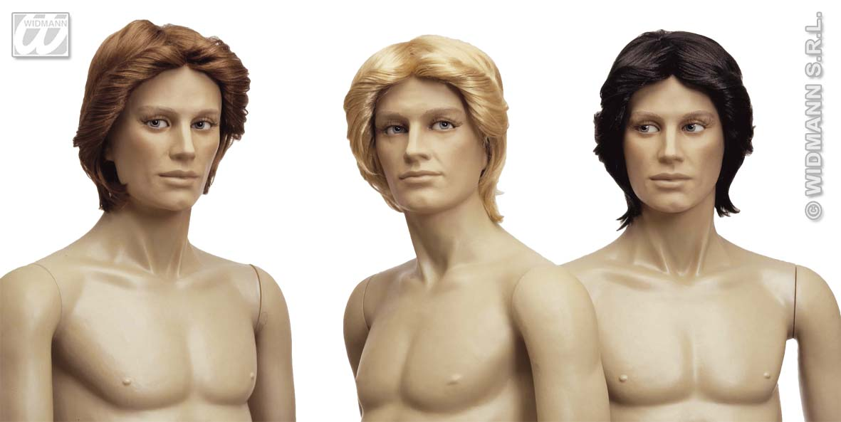 6235G Men's Styled Wig