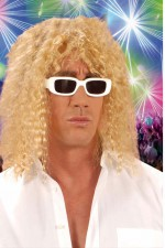 6264S Long Blonde Curly Wig