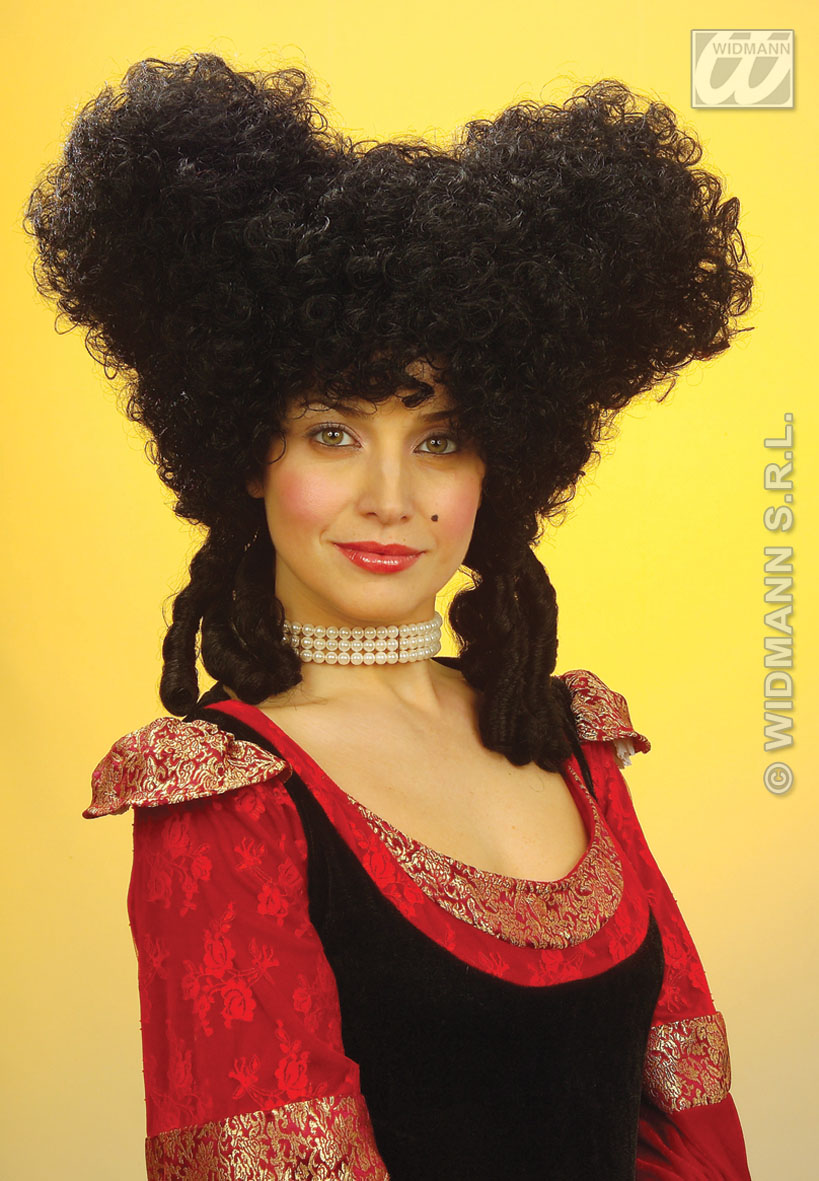 6324N Baroque Black Wig