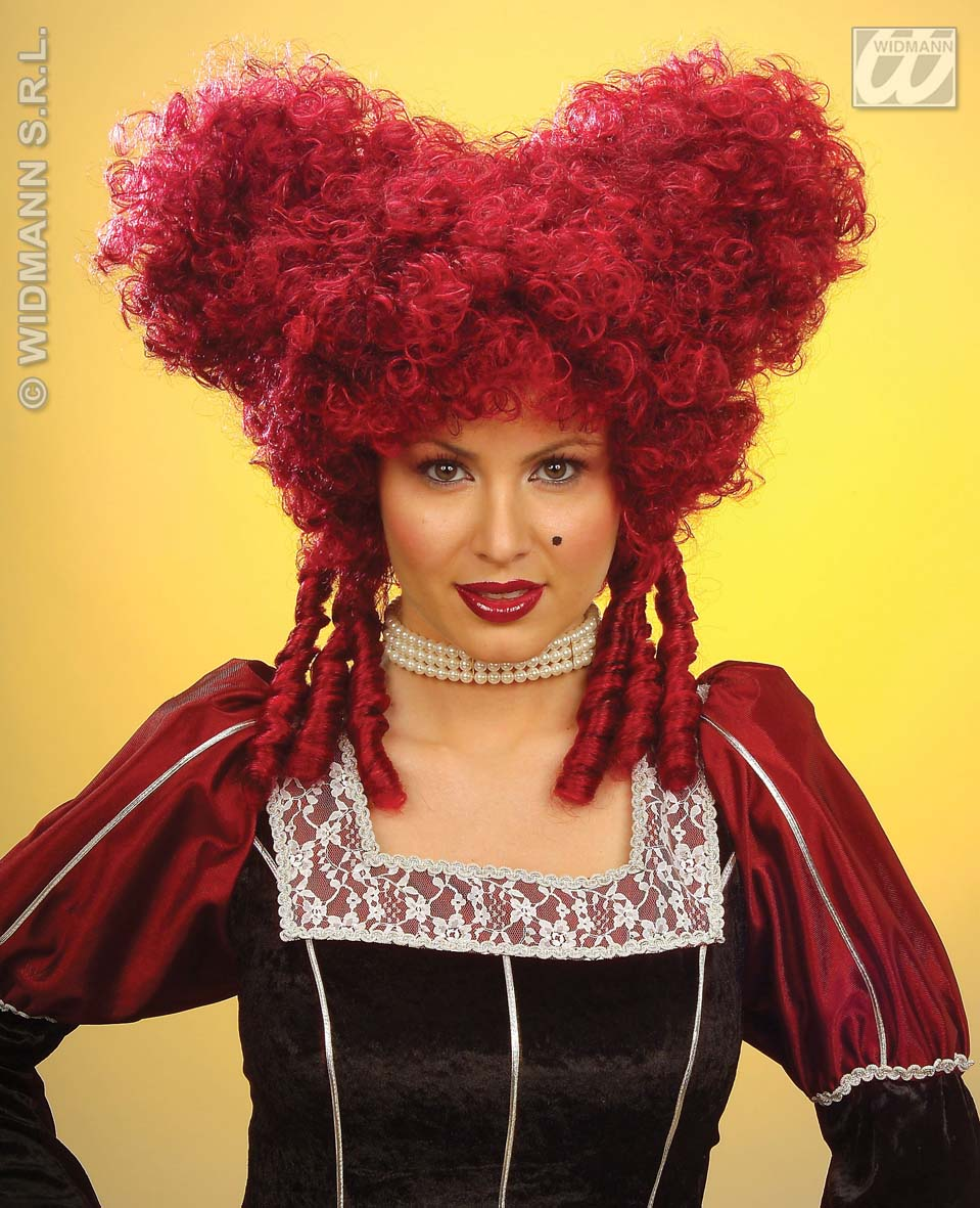 6325R Queen Of Hearts Wig